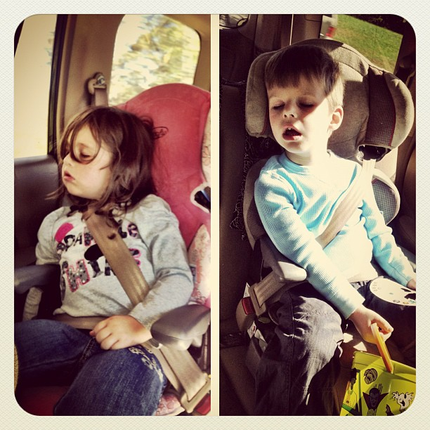 Conked out on the way to Ellijay.