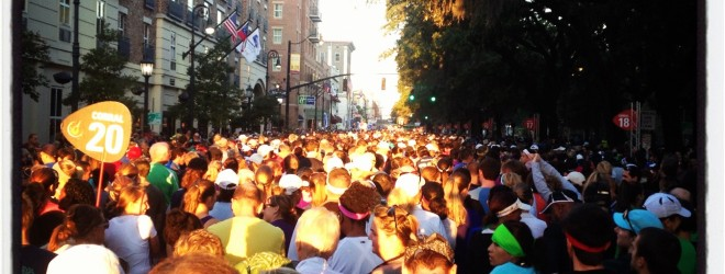 Rock 'n' Roll Savannah Half Marathon Race Report