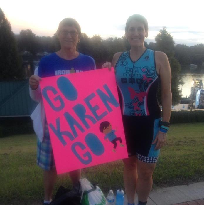 Augusta 70.3 Me and Mom