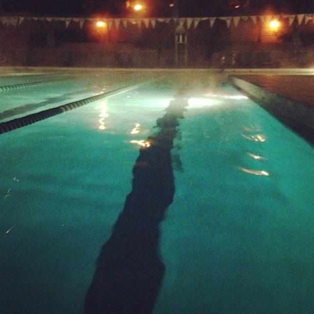 27 degrees outside. Let's swim!!