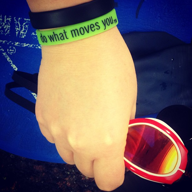 """""""Do What Moves You."""" Amen. Thx for the reminder @swiftwick"""