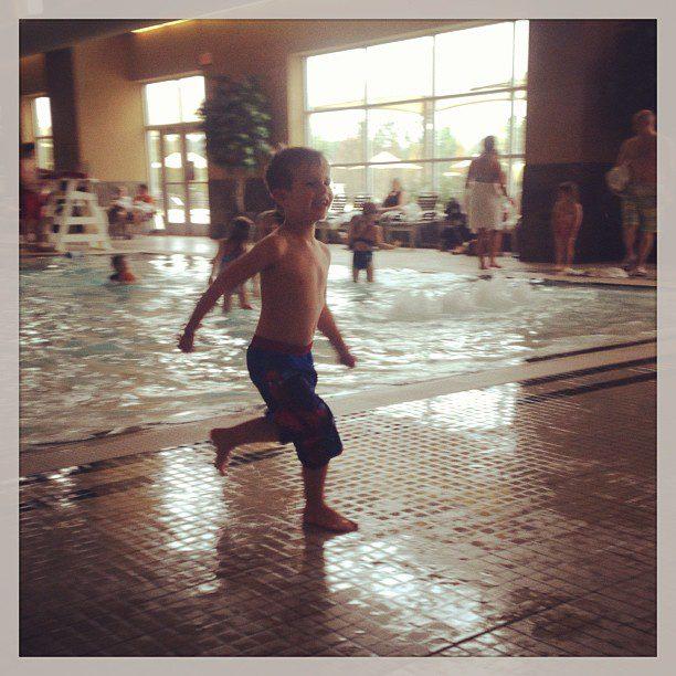 Swim start. :)