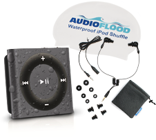 Space Gray Waterproof iPod Shuffle Bundle